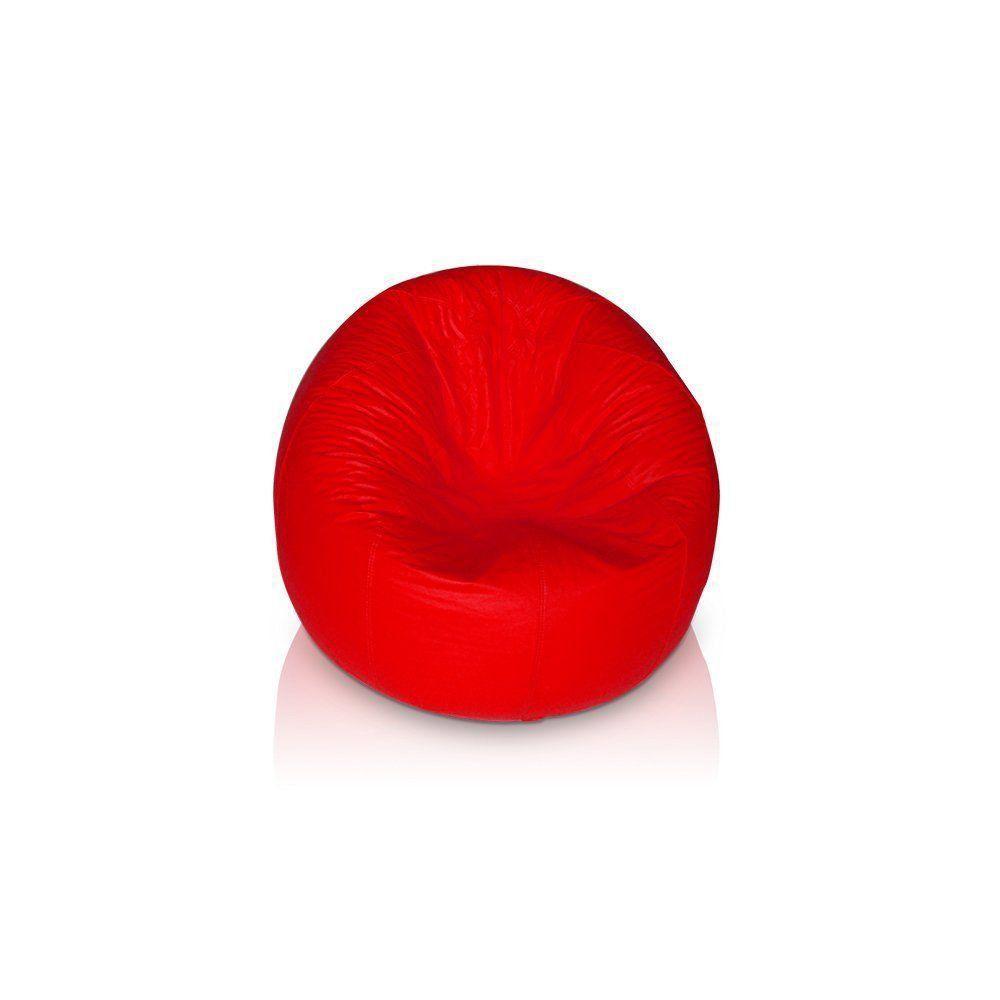 Puff Redondo Pop Vermelho - Stay Puff