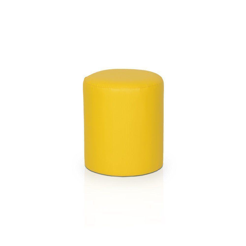 Puff Round Nobre Amarelo - Stay Puff