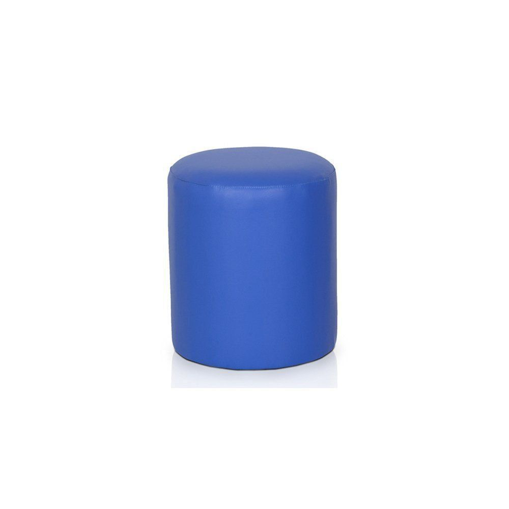 Puff Round Nobre Azul Royal - Stay Puff