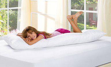 Travesseiro Para Corpo Rafaela 01 Peça - Branco
