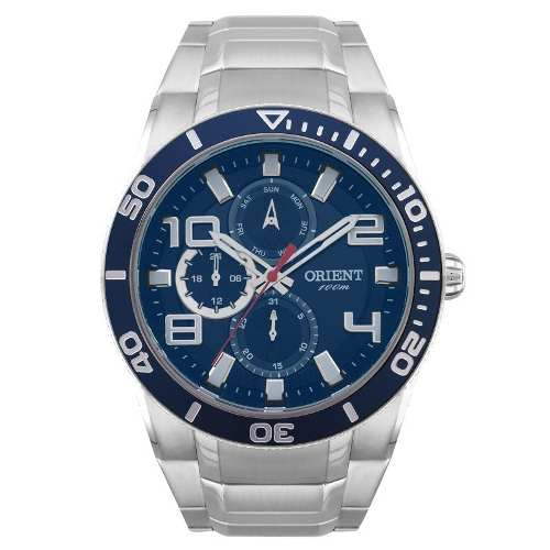 Relógio Orient Cronografo Mbssm055 D2sx - Garantia 1 Ano