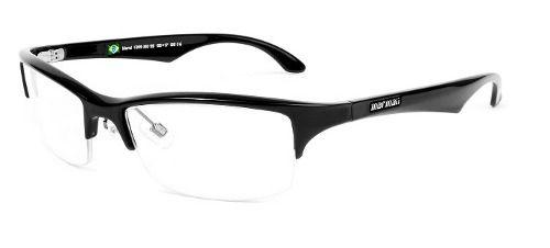 Armação Para Oculos De Grau Mormaii Maral 139921055 Preto Brilho