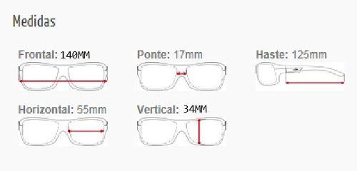 Armação Para Oculos De Grau Mormaii Maral 139904855 Marrom Escuro