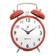 Despertador Herweg 2202 288 Cor: Telha Retrô Vintage Relógio