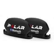 Conjunto Sensor De Cadencia E Velocidade Polar Bluetooth