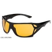 Oculos Sol Mormaii Vulcanus  43927604 Preto Lente Amarela