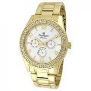 Relógio Champion Feminino C/ Strass Ch38431h - Garantia