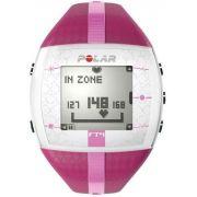 Relogio Monitor Cardiaco Polar Ft4 Rosa - Revenda Autorizada