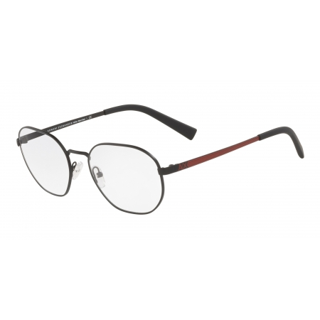 Armação De Óculos Armani Exchange  Ax1043l 6000 54 Preto Fosco