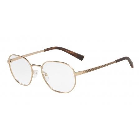 Armação De Óculos Armani Exchange  Ax1043l 6075 54 Dourado Fosco