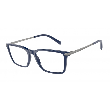 Armação De Óculos Armani Exchange  Ax3077 8212 54 Azul Brilho