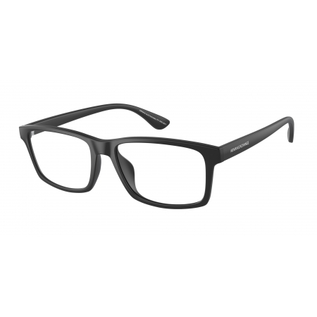 Armação De Óculos Armani Exchange  Ax3083u 8078 54 Preto Fosco
