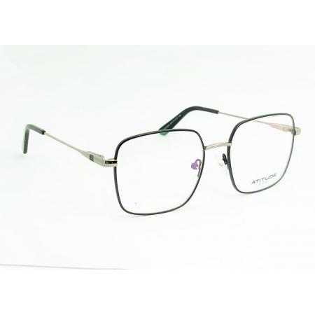 Armação de Óculos Atitude  at2100m 09a Preto Fosco