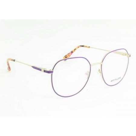 Armação de Óculos Atitude  at2105 07a Lilas Fosco