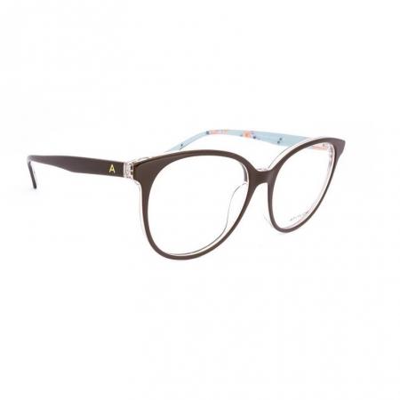 Armação De Óculos Atitude At6179in G01 Marrom Brilho