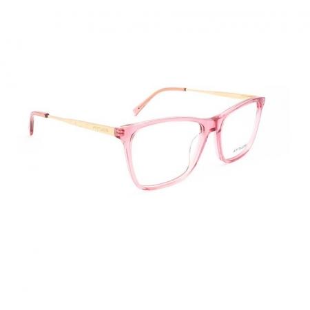 Armação de Óculos Atitude  at6183n k01 Rosa Translúcido