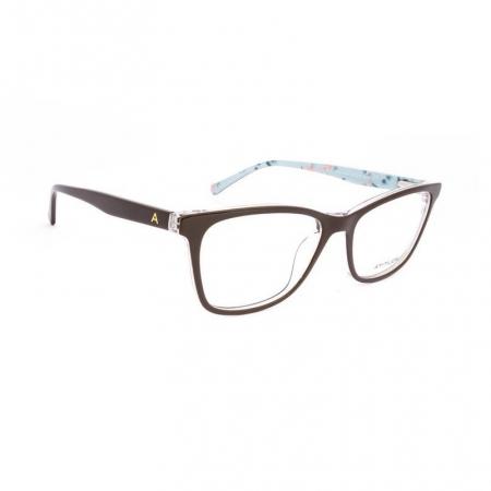 Armação De Óculos Atitude  At6209in G01 Marrom Brilho