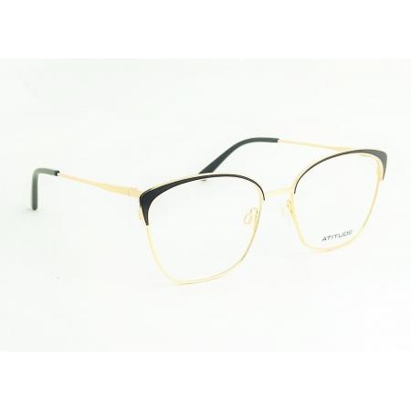 Armação de Óculos Atitude  at6226in a01 Dourado Brilho