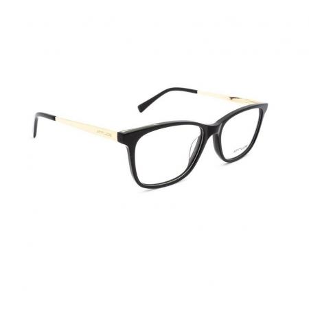 Armação de Óculos Atitude  at6230in a01 Preto Brilho