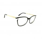 Armação de Óculos Atitude  at7125 a01 Preto Brilho