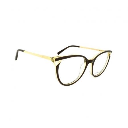 Armação de Óculos Atitude  at7126 g01 Marrom Brilho