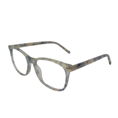 Armação de Óculos Atitude  at7151 g22 Bege Translúcido Marmorizado