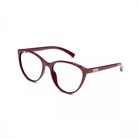 Armação De Óculos Colcci Kim C6146c2356 Bordô Brilho