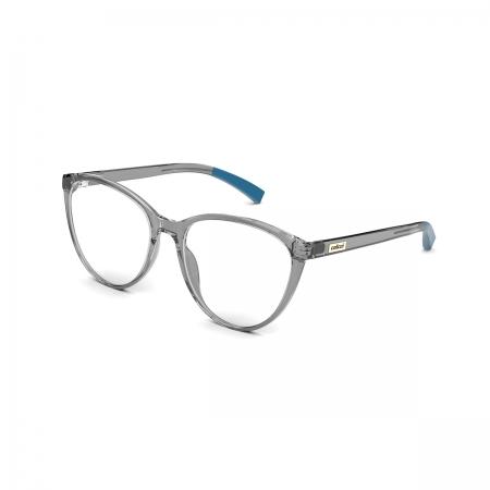 Armação De Óculos Colcci Kim C6146d4956 Fumê Translúcido