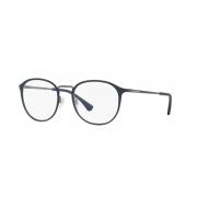Armação de Óculos Empório Armani  ea1091 3228 52 Azul Escuro Fosco