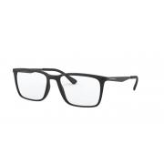 Armação de Óculos Empório Armani  ea3169 5042 55 Preto Fosco