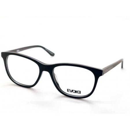 Armação de Óculos Evoke For You dx49 a01 54 Preto Riscado