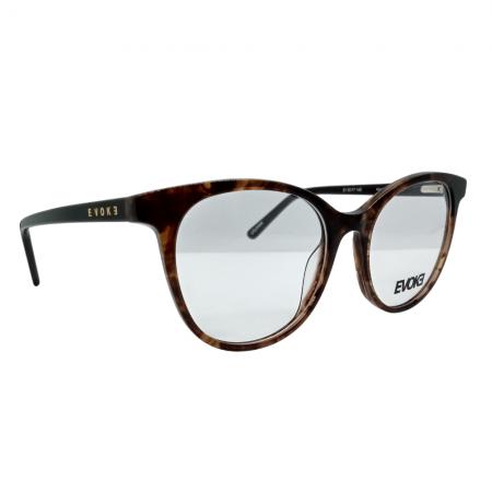 Armação de Óculos Evoke For You dx87 g01 51 Marrom Tartaruga