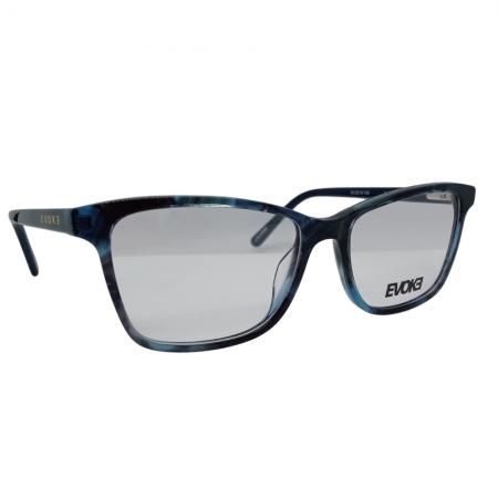 Armação de Óculos Evoke For You dx88 d01 53 Azul Tartaruga