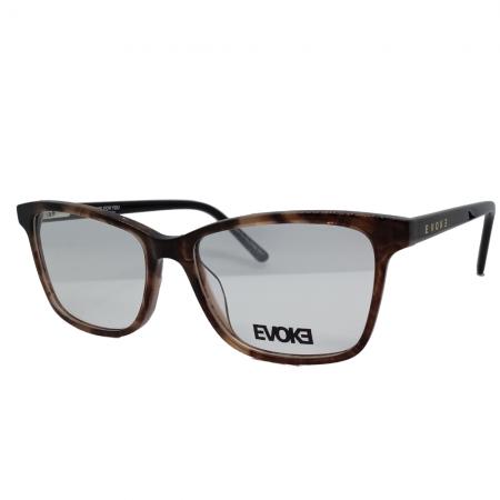 Armação de Óculos Evoke For You dx88 g01 53 Marrom Tartaruga