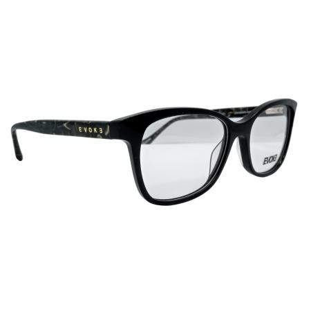 Armação de Óculos Evoke For You dx99 d01 55 Preto