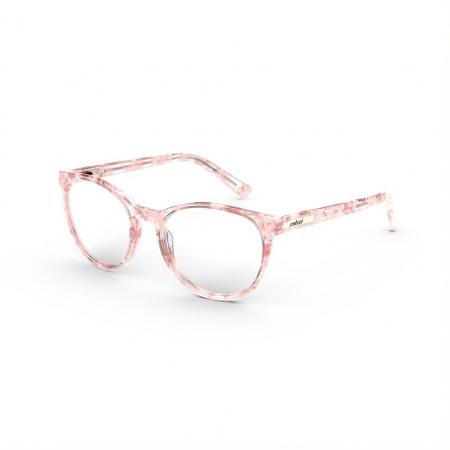 Armação De Óculos Infantil Colcci Iris C6169b4247 Rosa Translúcido Marmorizado