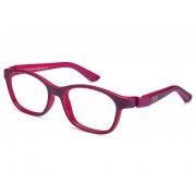 Armação De Óculos Infantil Nano Vista Camper Nao620444h Roxo Fosco