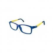Armação de Óculos Infantil Nano Vista Fangame nao610950  50 Azul