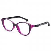 Armação de Óculos Infantil Nano Vista Mimi nao770148  48 Preto
