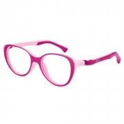 Armação de Óculos Infantil Nano Vista Mimi nao770348  48 Rosa