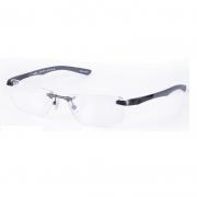 Armação de Óculos Mormaii Titânio 153343354 Grafite Fosco