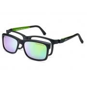 Armação De Óculos Nano Vista Fangame Nao611448sc Preto Fosco