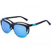 Armação De Óculos Nano Vista Quest Nao840848sc Preto Fosco