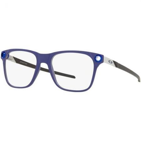 Armação De Óculos Oakley Apparition Ox8152 03 53 Azul Fosco