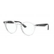 Armação de Óculos Ray Ban rb2180v 5943 49 Transparente