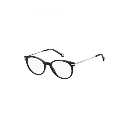 Armação De Óculos Tommy Hilfiger Th1821 807 51 Preto Brilho