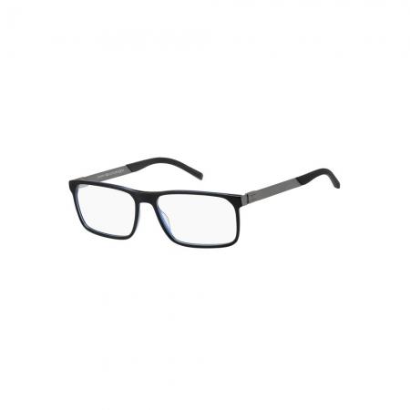 Armação De Óculos Tommy Hilfiger Th1829 D51 57 Preto Brilho
