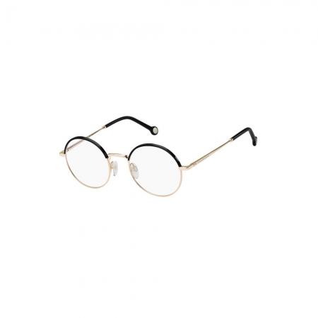 Armação De Óculos Tommy Hilfiger Th1838 000 50 Dourado Brilho