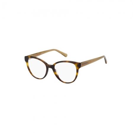 Armação De Óculos Tommy Hilfiger Th1842 05l 51 Marrom Fosco Havana