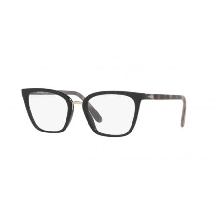 Armação De Óculos Vogue Vo5260l 2648 53 Preto Brilho